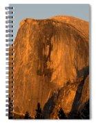 Half Dome, Yosemite Np Spiral Notebook