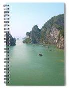 Halong Bay In Vietnam Spiral Notebook