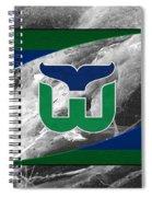 Hartford Whalers Spiral Notebook