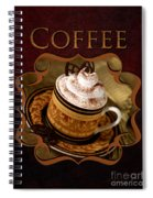 Cappuchino With Choclates Spiral Notebook