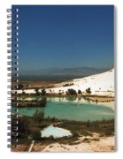 Hot Springs And Travertine Pool Spiral Notebook