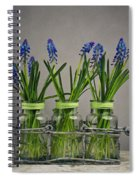 Hyacinth Still Life Spiral Notebook