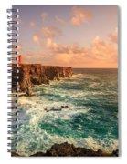 Icelandic Coast Spiral Notebook