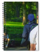 Into The Park Spiral Notebook