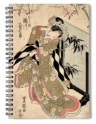 Japan: Tale Of Genji Spiral Notebook