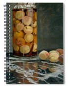 Jar Of Peaches Spiral Notebook
