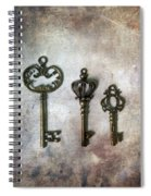 Keys Spiral Notebook
