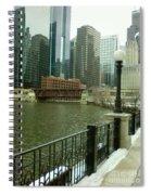 Lake Street Bridge Spiral Notebook
