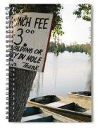 Launch Fee Spiral Notebook