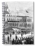 Lincoln's Funeral, 1865 Spiral Notebook