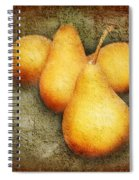 4 Little Pears Are We Spiral Notebook