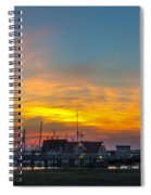 Harbor Lowcountry Sunset Spiral Notebook