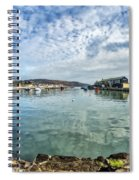 Lyme Regis Harbour Spiral Notebook