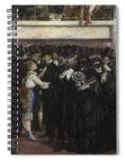 Masked Ball At The Opera Spiral Notebook