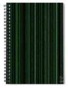 Matrix Green Spiral Notebook