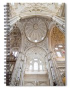 Mezquita Cathedral Interior In Cordoba Spiral Notebook