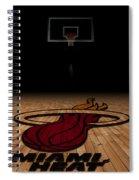 Miami Heat Spiral Notebook