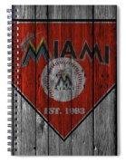 Miami Marlins Spiral Notebook