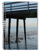 New Photographic Art Print For Sale Paradise Cove Spiral Notebook