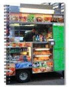 New York Street Vendor Spiral Notebook