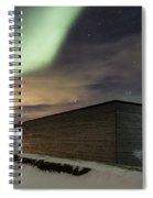 Northern Lights Iceland Spiral Notebook
