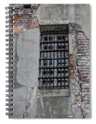Vintage Jail Window Spiral Notebook