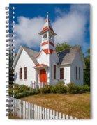Oysterville Church Spiral Notebook