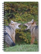 Patagonian Red Fox Spiral Notebook