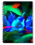 4 Pears Spiral Notebook