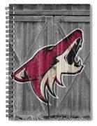 Phoenix Coyotes Spiral Notebook
