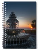 Charleston Sunrise  Spiral Notebook