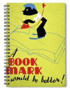 Poster Books, C1938 Spiral Notebook