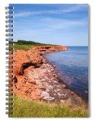 Prince Edward Island Coastline Spiral Notebook