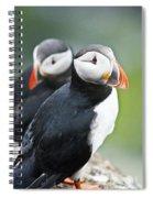 Puffins Spiral Notebook
