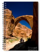 Rainbow Bridge Spiral Notebook