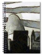 Rio De Janeiro Skyline Spiral Notebook
