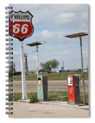 Route 66 - Adrian Texas Spiral Notebook