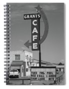 Route 66 - Grants Cafe Spiral Notebook
