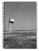 Route 66 - Leaning Water Tower Spiral Notebook