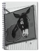 Route 66 - Mule Trading Post Spiral Notebook