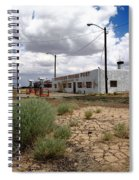 Route 66 - Twin Arrows Trading Post Spiral Notebook