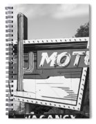 Route 66 - Western Motel Spiral Notebook