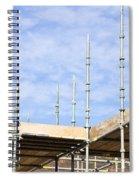 Scaffolding Spiral Notebook