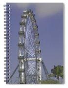 Singapore Flyer  Spiral Notebook