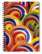Spinning Tops Spiral Notebook