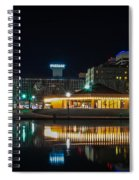 Spokane Washingon Downtown Streets And Architecture Spiral Notebook