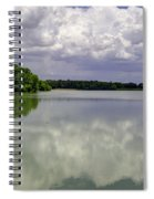 4-summer Time At Moraine View State Park Spiral Notebook