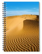 Sunrise At Oceano Sand Dunes Spiral Notebook