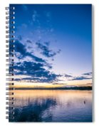 Sunset At Lake Wylie Spiral Notebook