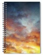 Sunset Sky Spiral Notebook